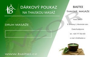 gift voucher for thai massage